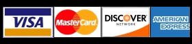 We accept all major credit and debit cards with our secure processing partners.