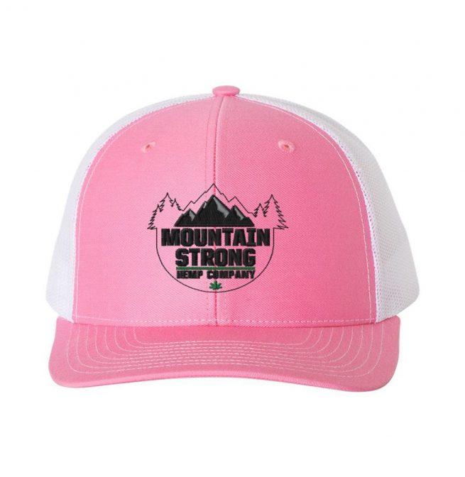 Pink & White Hat