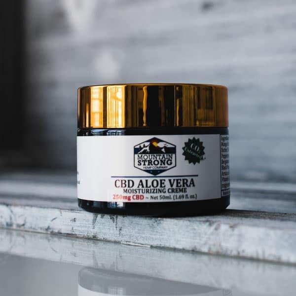 250mg Isolate Aloe Vera Cream