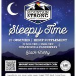 Our sleepy time CBN gummies will have you sleeping like a baby again.